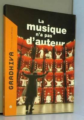 Gradhiva N°12 La Musique...