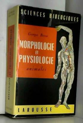 Morphologie et physiologie...