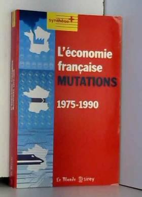L'économie fraçaise...