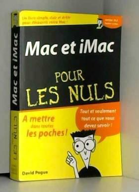 Mac et Imac poche pour les...