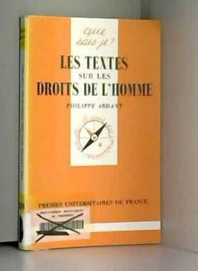 Les Textes sur les droits...