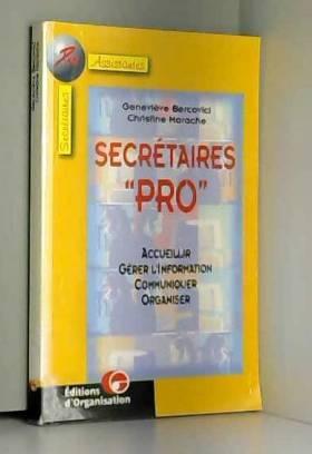 """Secrétaires """"pro"""", 2e..."""