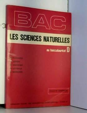 Les sciences naturelles au...