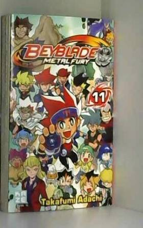 Beyblade Metal Fury Vol.11
