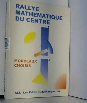 Rallye mathématique du Centre
