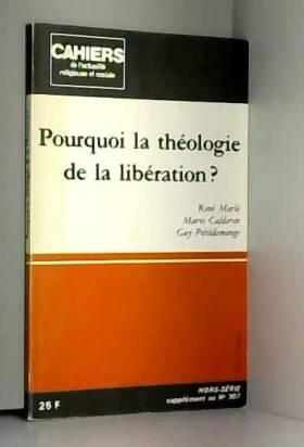 Pourquoi la théologie de la...
