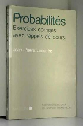 Probabilités : Exercices...