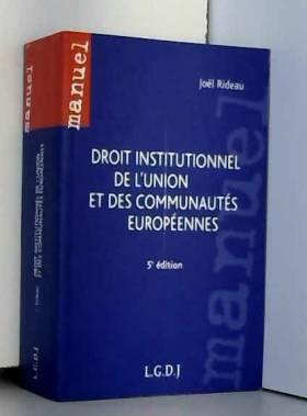 Droit institutionnel de...