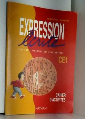 Expression écrite, CE1....