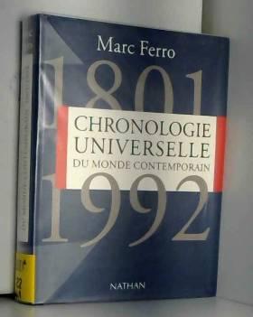 Chronologie universelle du...