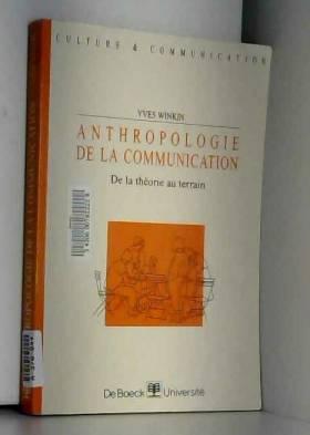 Anthropologie de la...