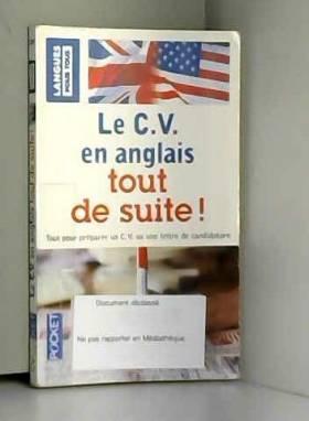 Le C.V. en anglais tout de...