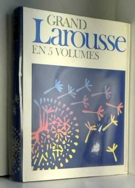 Collectif - Grand Larousse en 5 volumes. tome 2. chondrifie- fougere