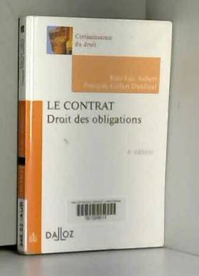 Le contrat. Droit des...