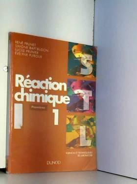 Réaction chimique, tome 1 :...