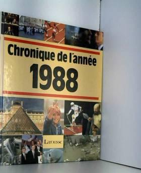 Jacques Legrand - Chronique de l'année 1988