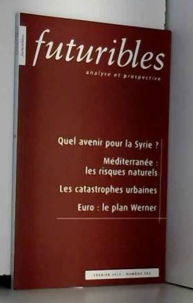 Hugues de Jouvenel et Collectif - Futuribles, N° 382, Février 2012 :