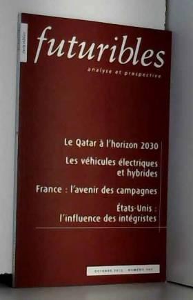 Hugues de Jouvenel - Futuribles, N° 389, Octobre 2012 : Futuribles n°389 octobre 2012