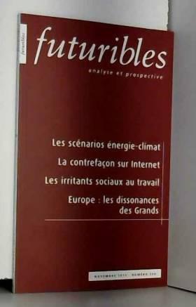 Hugues de Jouvenel et Collectif - Futuribles, N° 390, Novembre 201 :