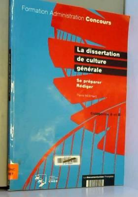 La dissertation de culture...