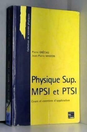 PHYSIQUE SUP MPSI ET PTSI....