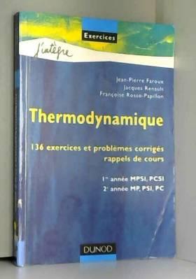 Thermodynamique : 136...