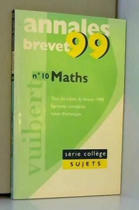 Annales 1999, mathématiques...