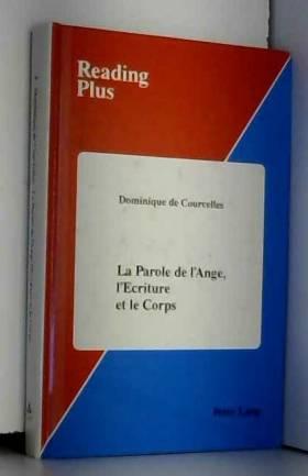 LA Parole De L'Ange:...