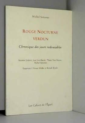 Rouge Nocturne Verdun
