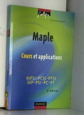 Maple : Cours et...
