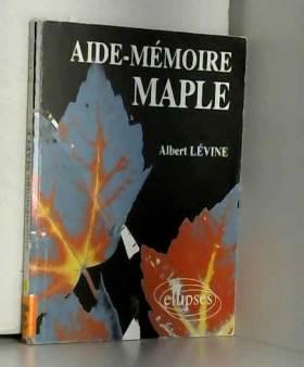 Aide-mémoire MAPLE
