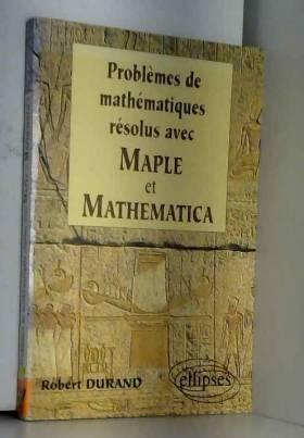 Problèmes de mathématiques...