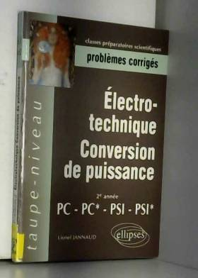 Electrotechnique :...