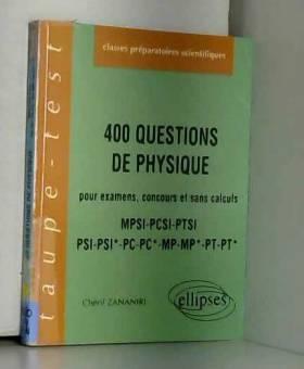 400 questions de physique...