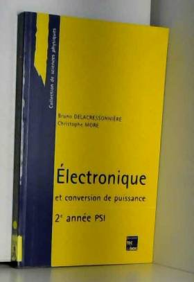 Électronique et conversion...