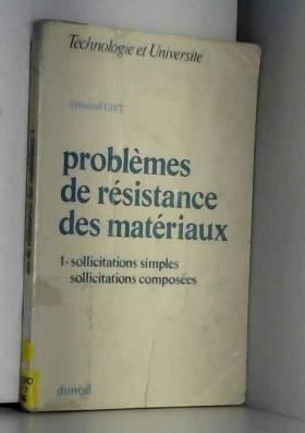 Problemes de resistance des...