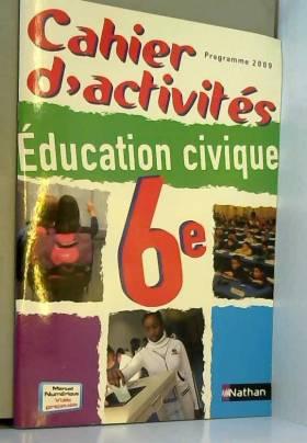 Cahier d'activités...