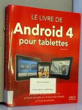 Le livre de Android...