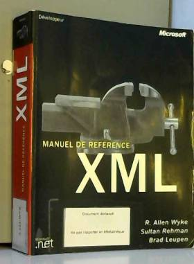 Manuel de Référence XML