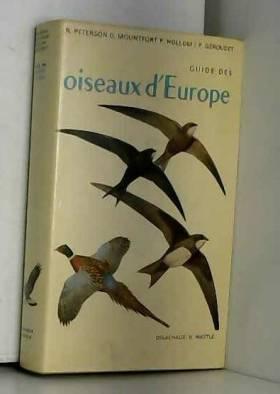 Guide des oiseaux d'Europe...
