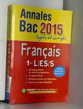 Annales Bac 2015 Français...