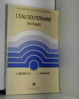 L'Eau souterraine en France