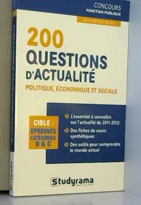 200 questions d'actualité...