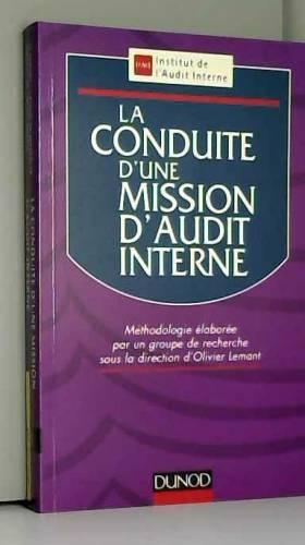 LA CONDUITE D'UNE MISSION...