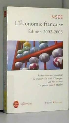 Insee - L'Economie française, édition 2002-2003 : Rapport sur les comptes de la nation de 2001