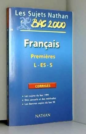 Bac français première ES et...