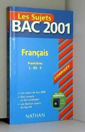 Bac 2001 : Français 1ère L...