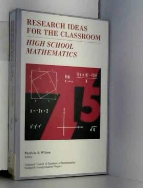 Patricia S. Wilson - High School Mathematics