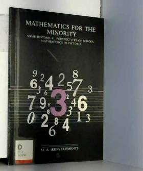 Mathematics For The Minority: Some Historical Perspectives Of School Mathematics In Victoria