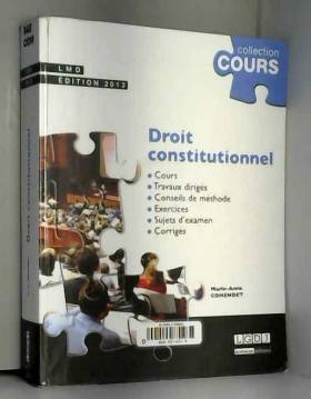 Droit constitutionnel...